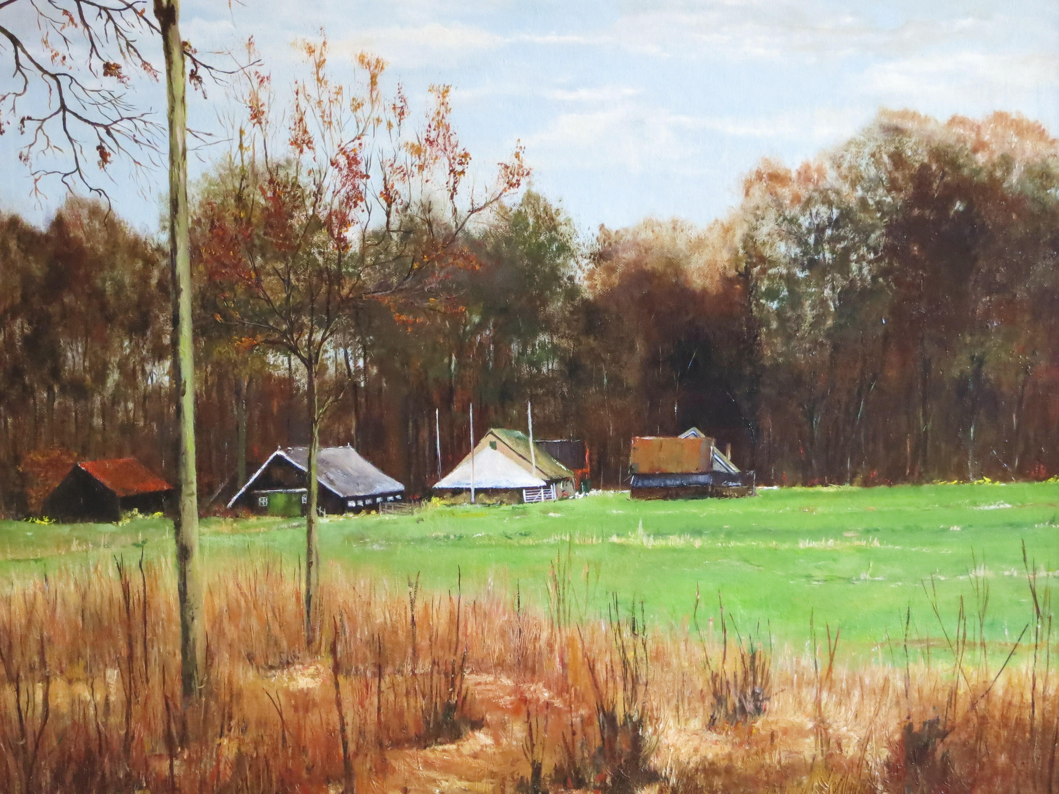 Boerderij in landgoed Linschoten