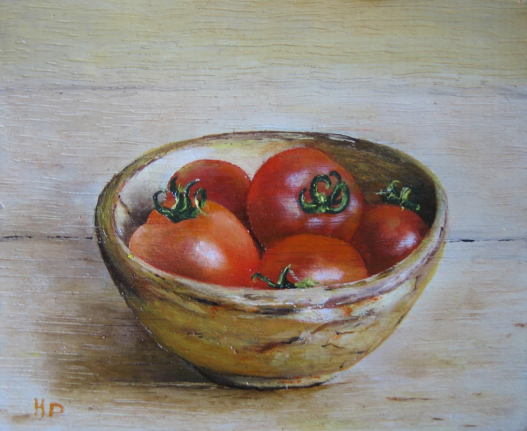 Tomaten in schaaltje.
