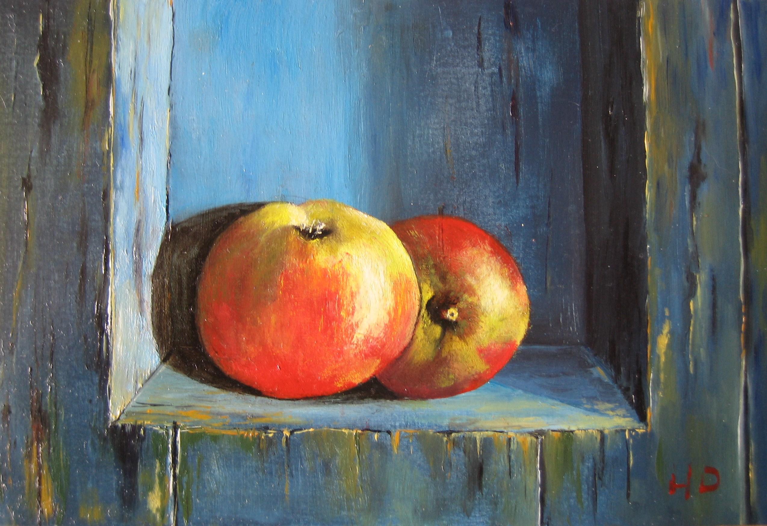 Twee appels in nis